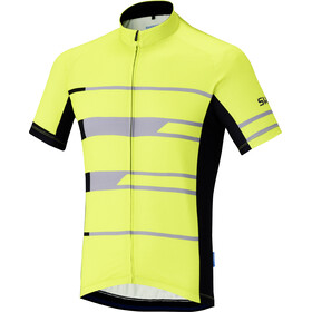 Shimano Team SS Jersey Men neon yellow